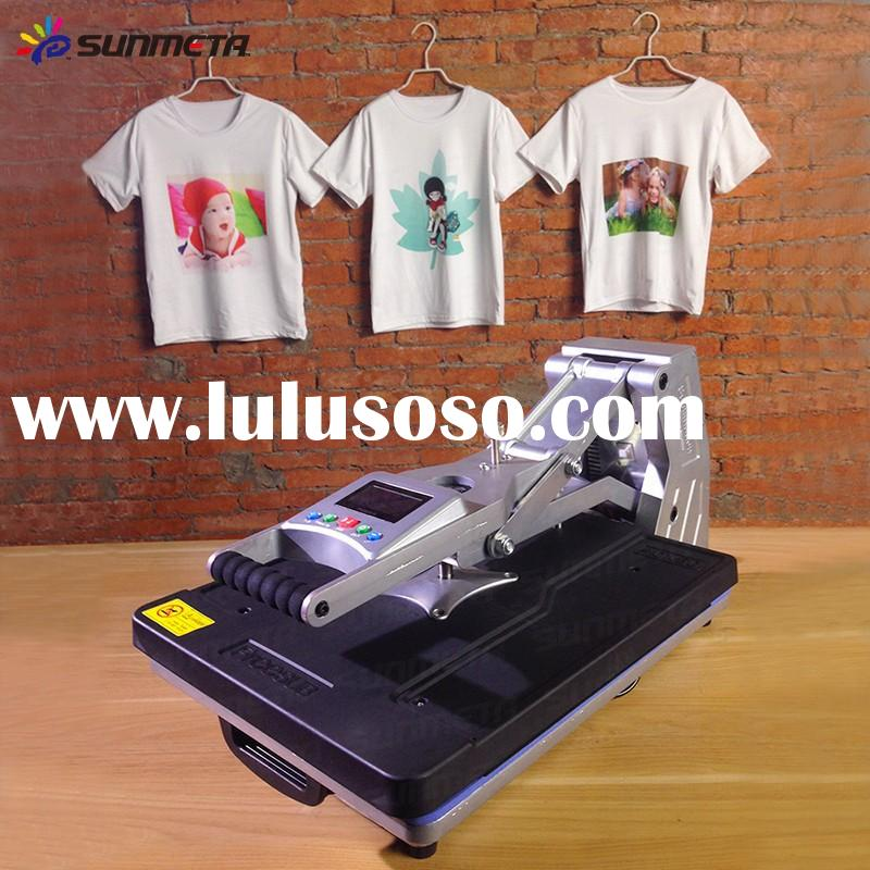 Mug printing heat press machine ce approval for sale for Cheap t shirt printing houston