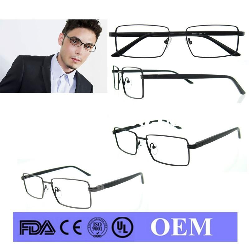 2015 new model metal glasses thin frame cheap designer galss progressive glasses uk