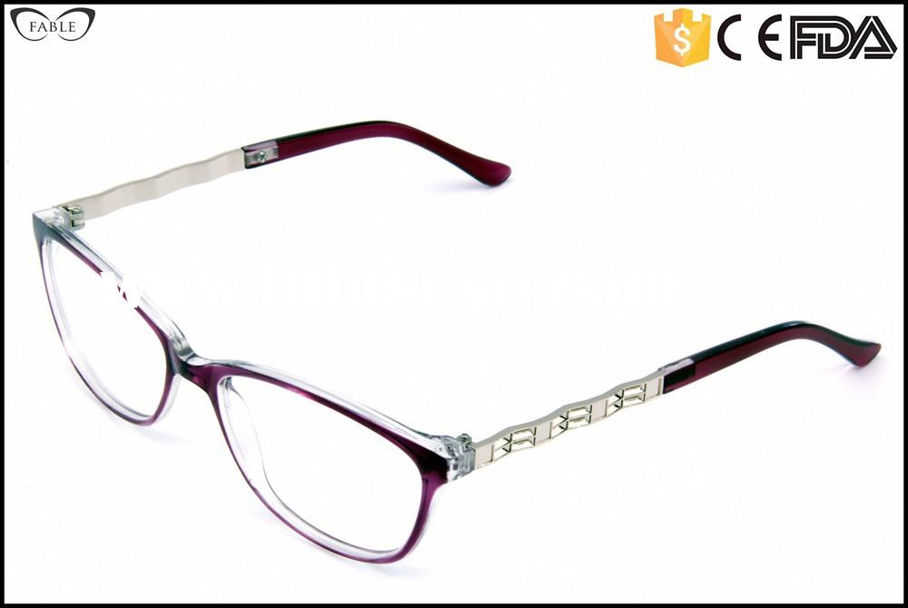 2015 trendy wenzhou cats eye designer mens glasses frames uk style PC material