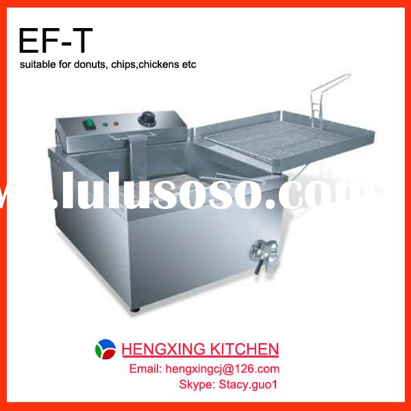 Commercial fryer for donuts, Table Top Electric Deep Fryer, 2014 Hot sale stainless steel fryer
