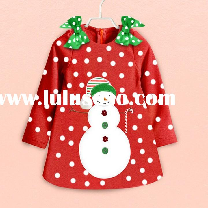 Fashion Cute Kids Cotton Dots 1-6 years old baby girl dress SV010060 #