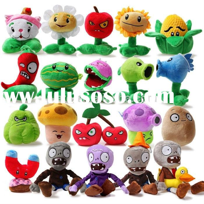 Horrible !plants vs zombies plush toy are coming/stuffed toy/new year's toys