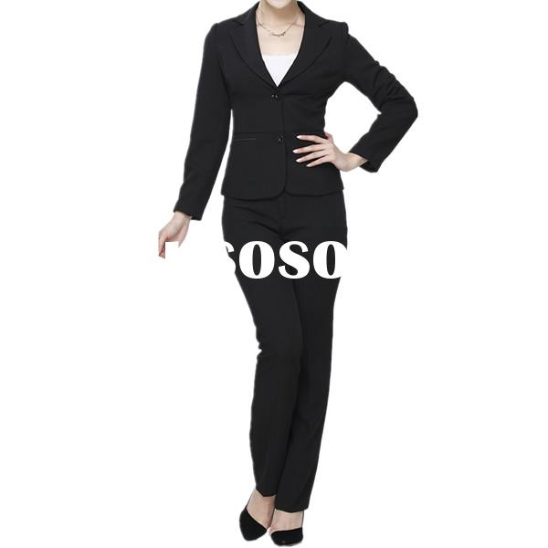 OEM Wholesale Fashion Hot Sale High Quality business suit for women
