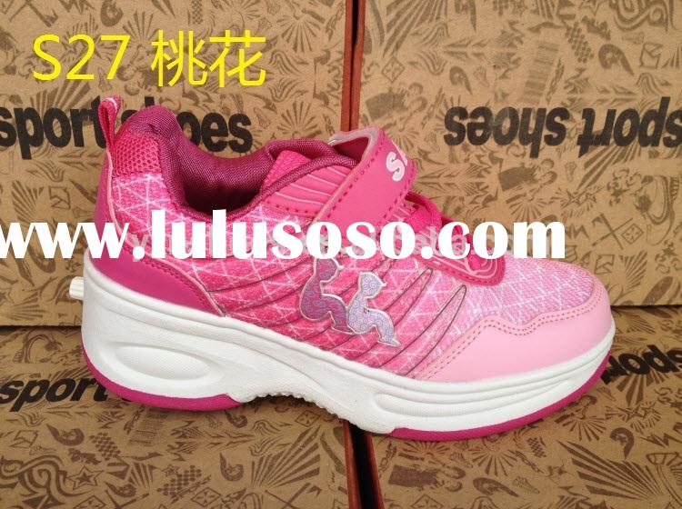 good quality girls roller skate shoes with retractable wheels for female, children retractable rolle