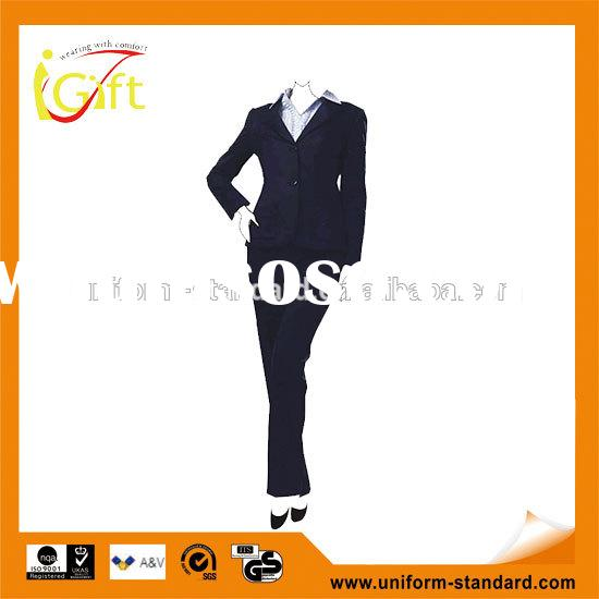 wholesale cheap cheap business suit for woman with skirt