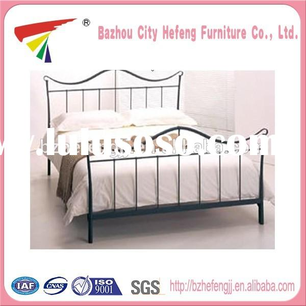 Factory price	queen size metal bed frame