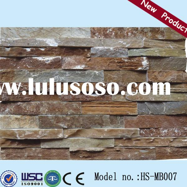 HS-MB007 decorative outdoor stone wall tiles natural stone