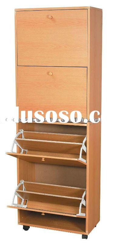 High quality wooden shoe cabinet furniture