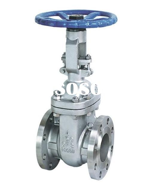 "Hot Sale 1/2"" DN15 Stainless Steel Gate Valve, 200CF8M, SS304 Female Threaded Valve Pipe Fittin"