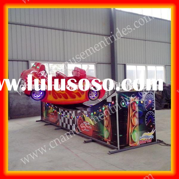 Kids games mini car ride used carnival games for sale