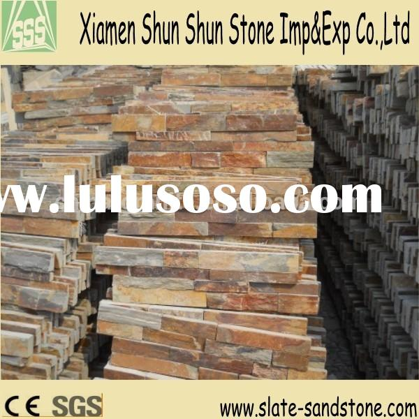 Natural decorative stone wall panels decorative outdoor stone wall tiles with competive price