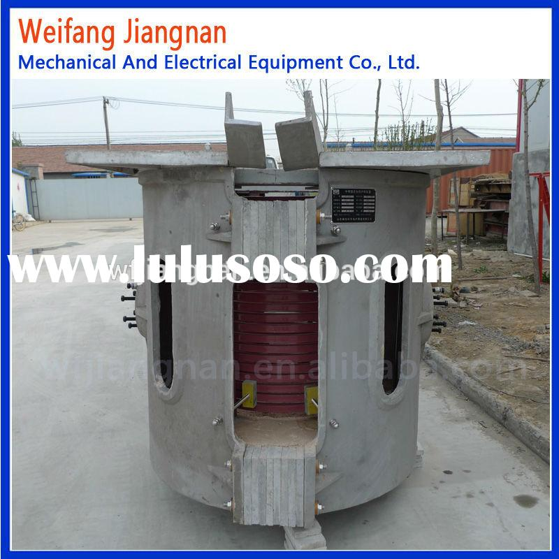 factory price medium frequency small copper melting furnace
