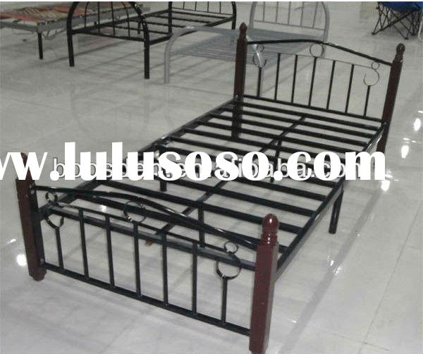 metal adult queen size bed frame, cheap metal adult bed, cheap metal bed BSD-454038