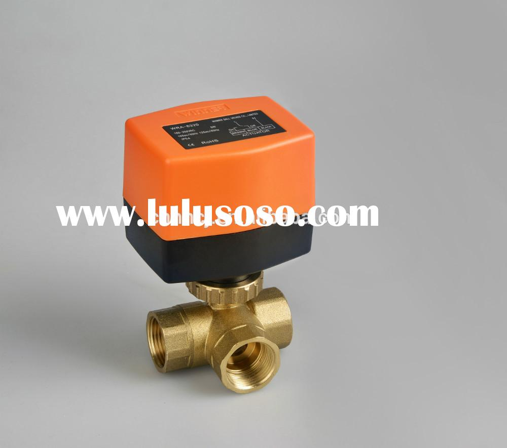 3-way electric valve for HVAC,water treatment, Auto control
