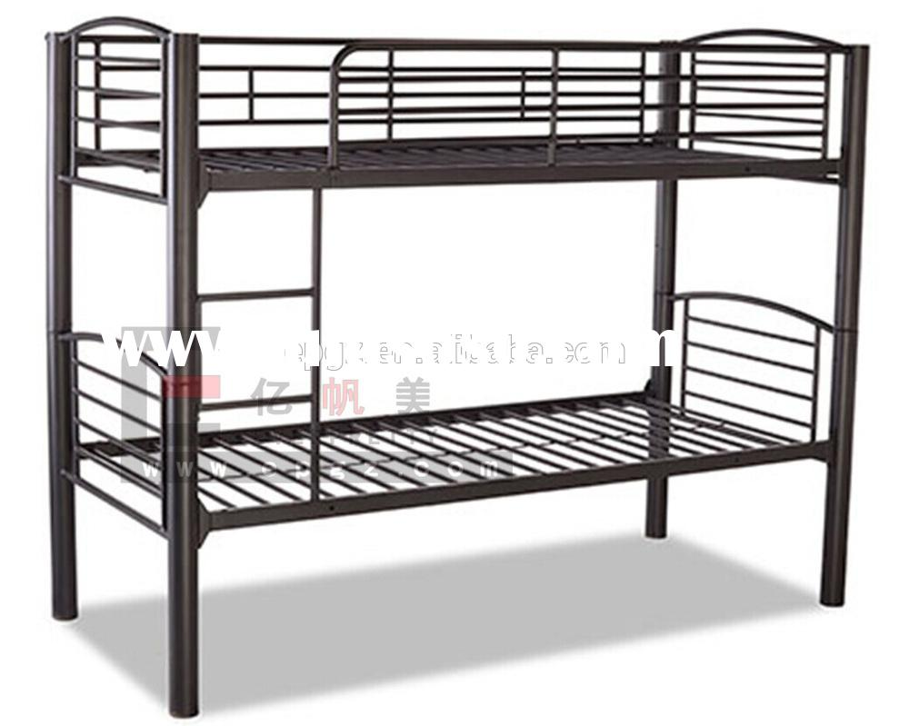 Double Deck Iron Bed Bedroom Furniture for Sale