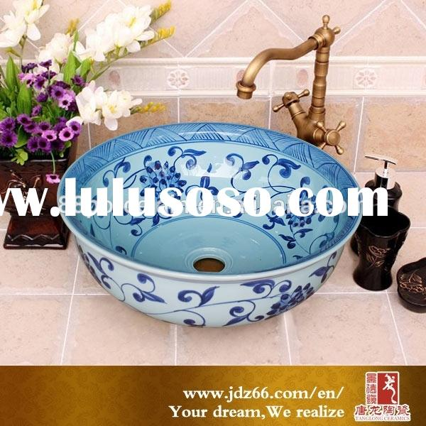 Jingdezhen factory direct OEM ceramic porcelain single basin kitchen sink