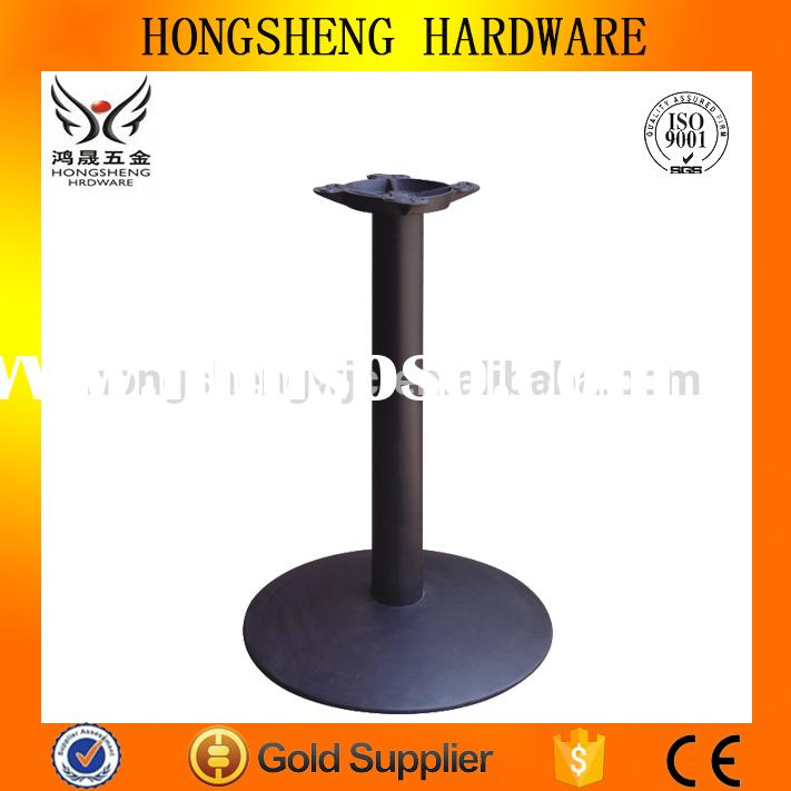 Metal garden table legs table bases only wrought iron outdoor furniture