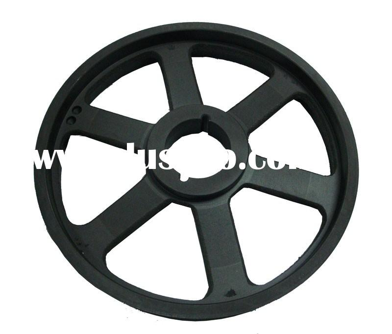 air compressor pulley 22180061 rubber motor pulley for IR screw air compressor parts
