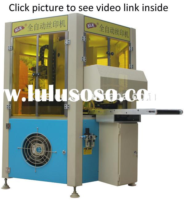 auto plastic rulers printing machinery ,rulers silk screen printer for sale