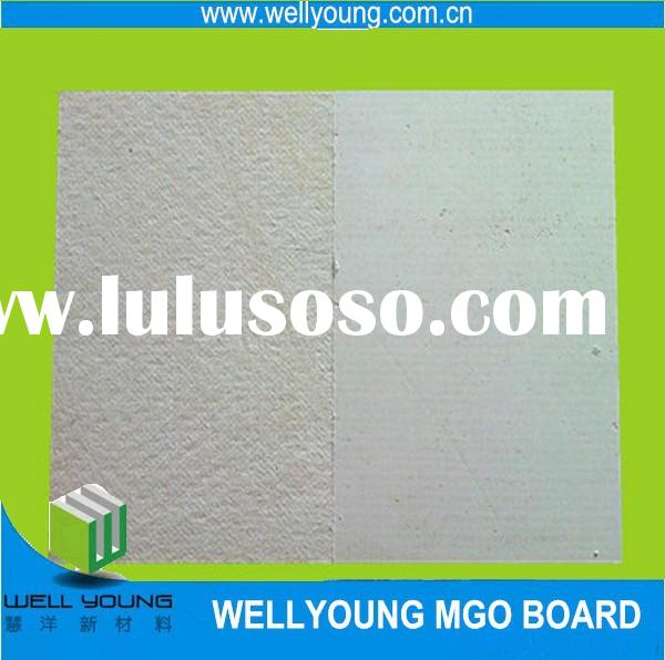 lightweight fireproof material mgo board for fireplace