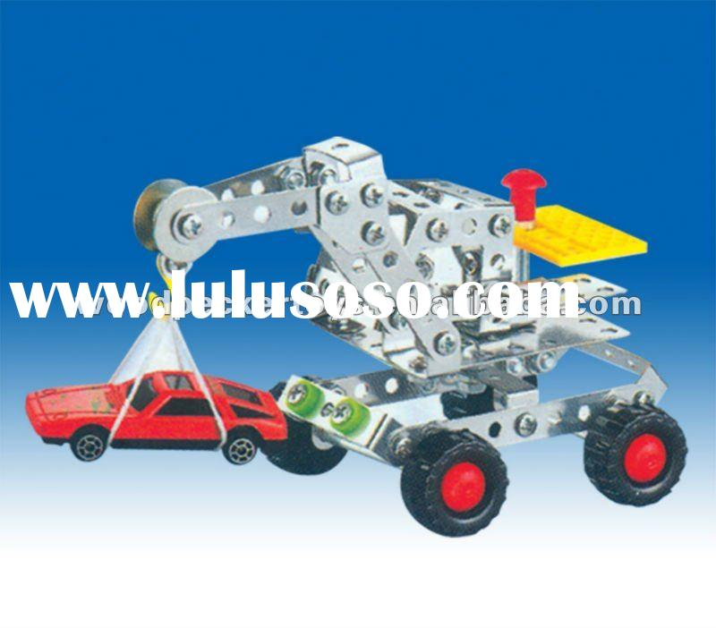 146PCS DIY METAL MODEL ASSEMBLY CONSTRUCTION TRUCK CAR TOY