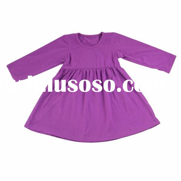 2015 new arrival boutique princess girls dresses wholesale Newborn baby clothing