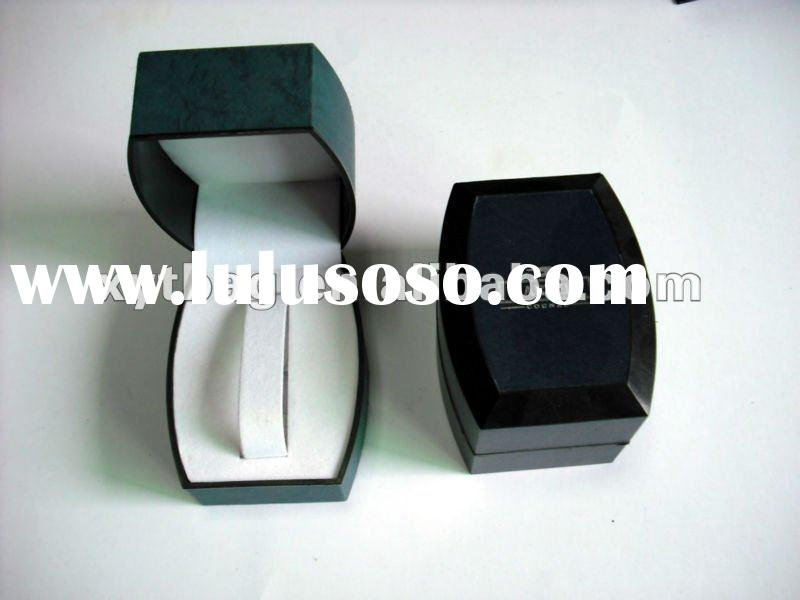 new PU leather jewelry decorative pill boxes for packing women jewelry