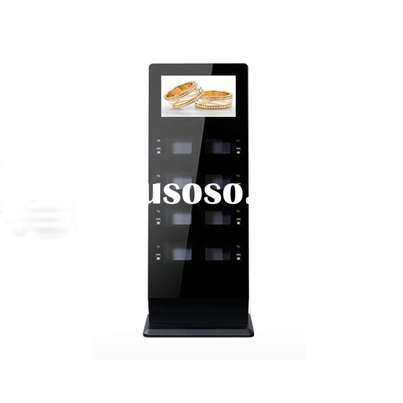 21.5 Inch Touchable Stand-alone Version Cell Phone Charging Station Kiosk
