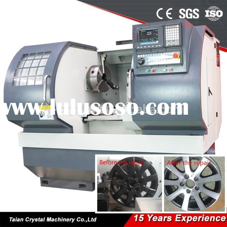 Mag / alloy wheel repair lathe cnc rim repair CK6260