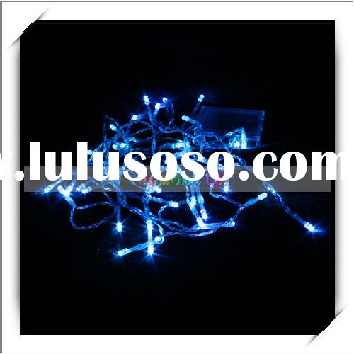 4m 40 LED Blue Light Christmas Party Battery Operated String Lights