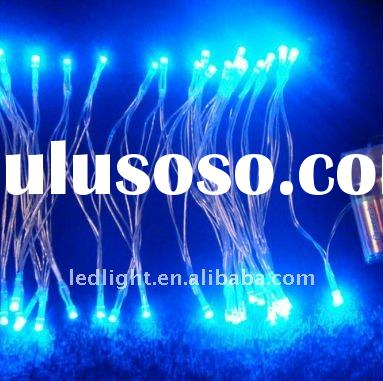 Bule 50LEDS low power battery powered/Operated led string light for holiday decoration-China Guangdo
