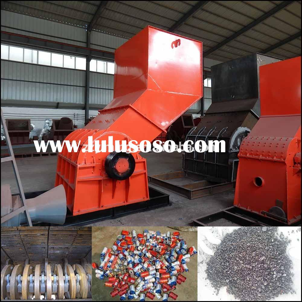 High efficient automatic aluminum can crusher