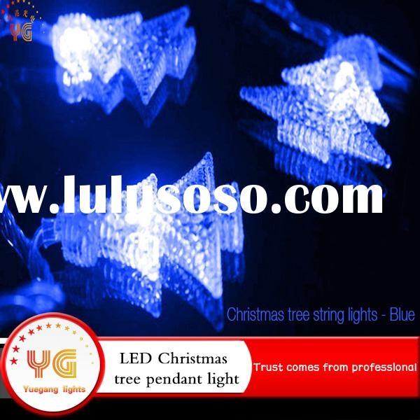 Holiday Promotion Wedding Party Blue Christmas Tree Fairy String Lights Battery Operated Mini Lights