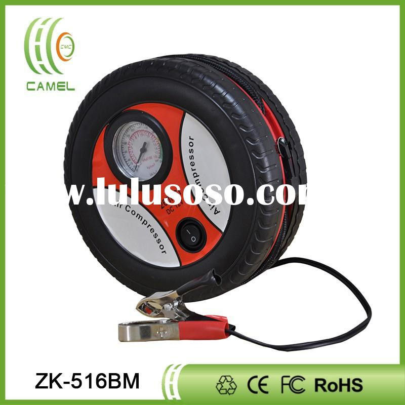 hand air compressor tyre inflator for car tyre