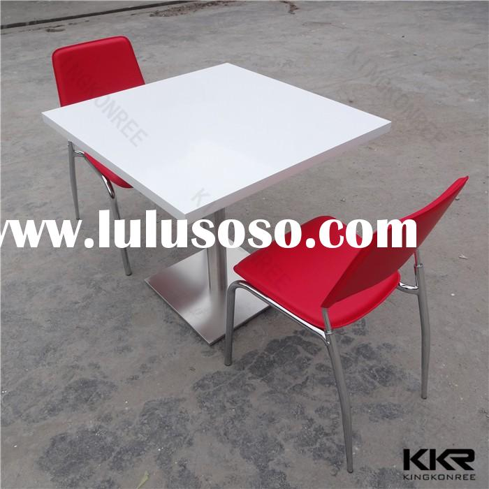living room table set /Artificial Marble stone top dining table