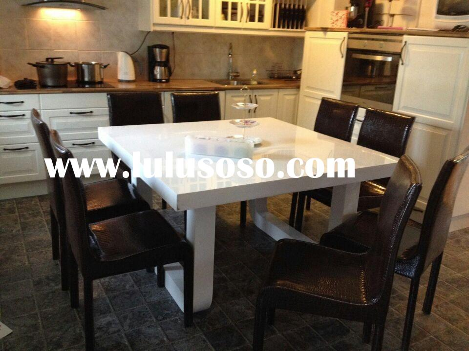 top quality marble top dining room table set