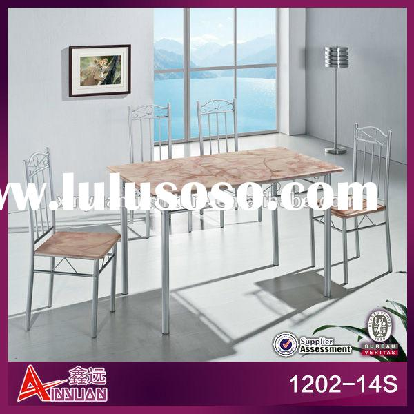 wholesale dining room furniture marble top dining table sets