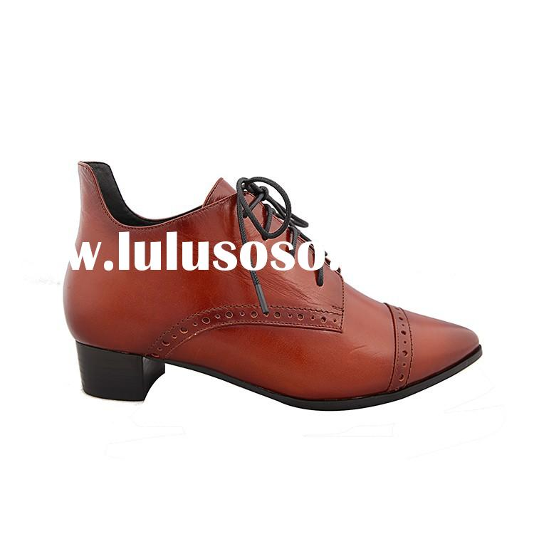 2015 China factory wholesale crystal low heel shoes for women