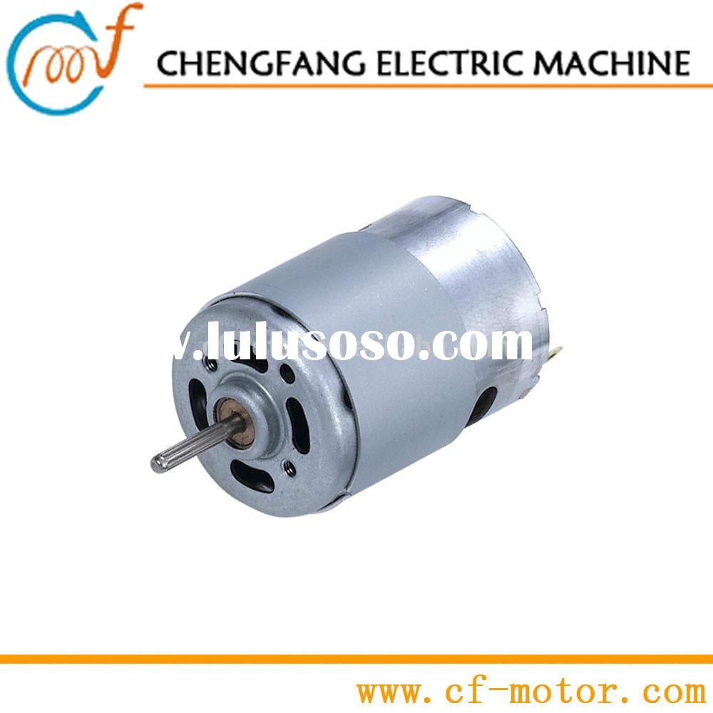 48 Volt Motor DC with High Speed about 25,000RPM | RS-385H