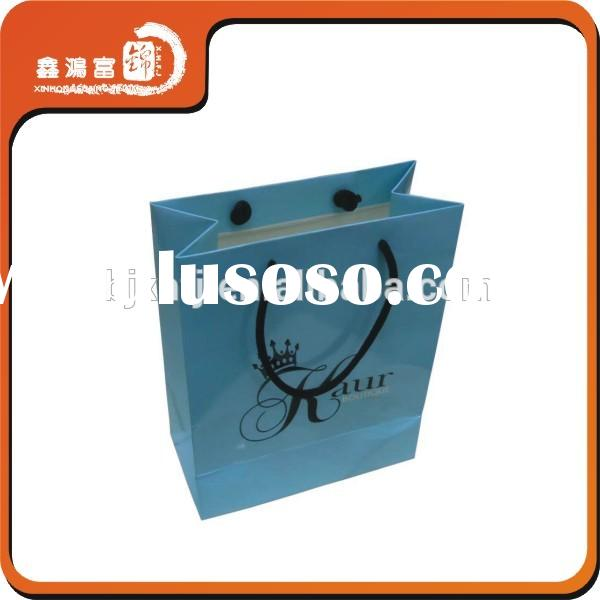 Four Color Printed Colorful small paper bags