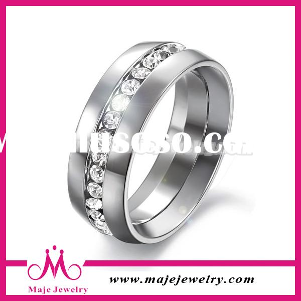 High Quality Unique 925 Sterling Silver Diamond Ring Jewelry Ring