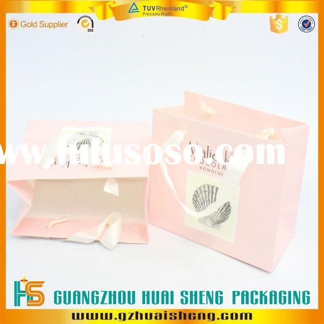 Promotion Cutom Color Printing small Paper Gift Bag