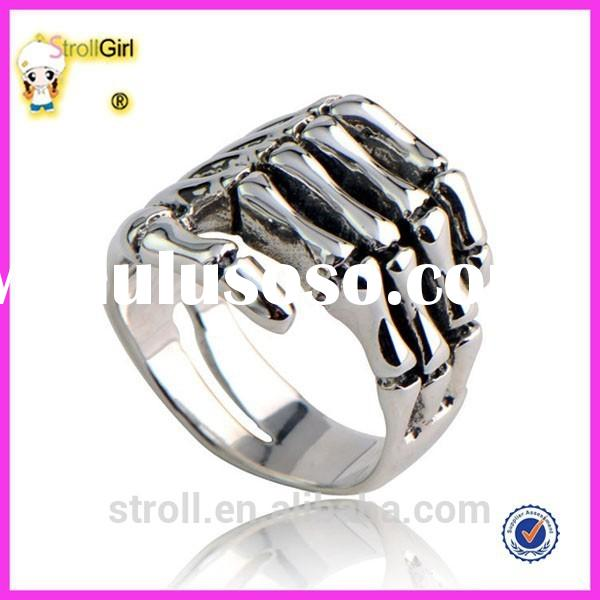 Wholesale Alibaba hand ring sterling silver hand ring unique silver ring