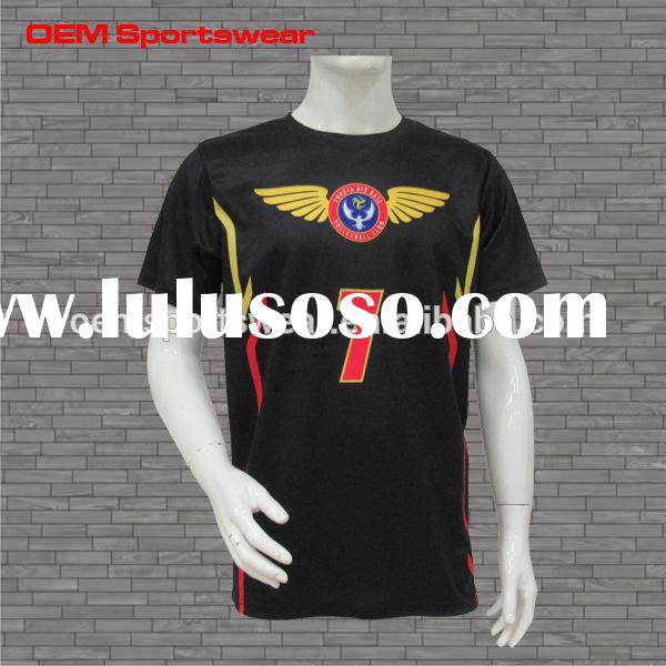 Cheap custom design black volleyball team uniforms jerseys