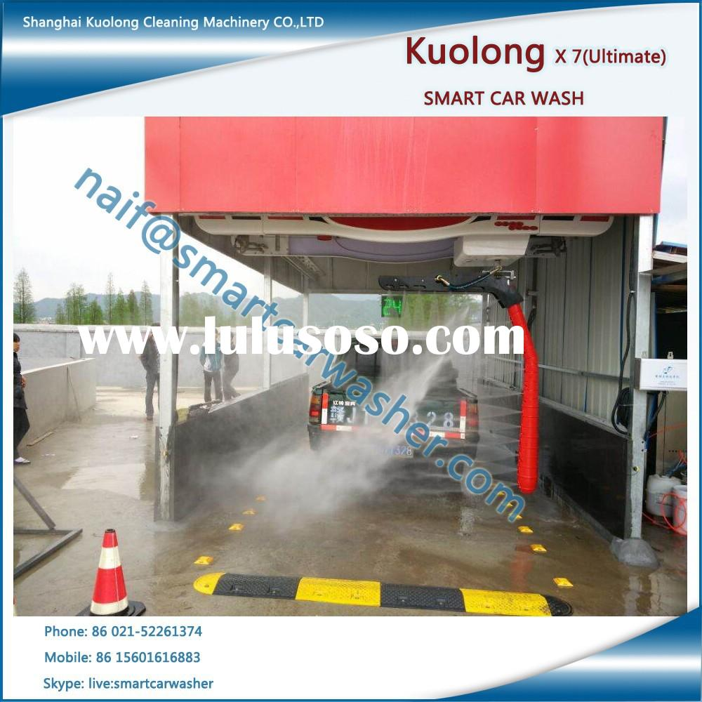 Fully Automatic Car Wash Station Equipment with Embedded Drying Functional
