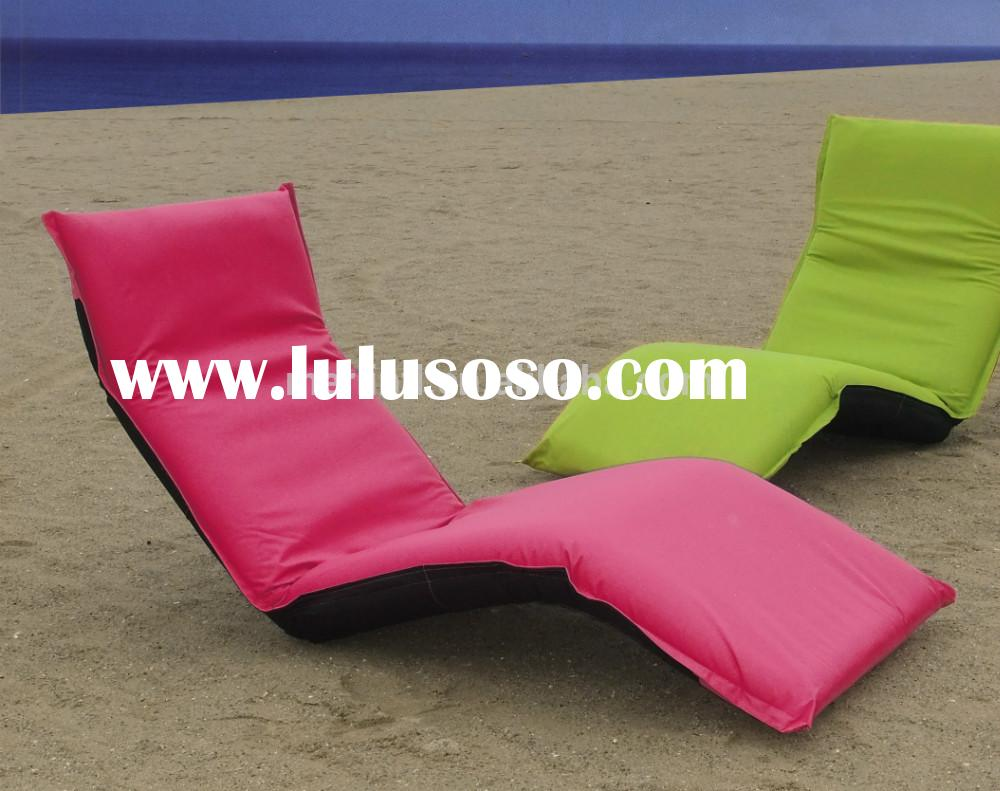 Outdoor Folding Chair Beach Chair Portable Folding Beach Lounge Chair