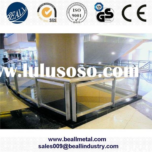 Prime quality 304 316 stainless steel railings for stairs manufacturer