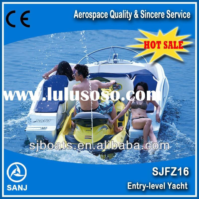 SANJ 1100cc 4 Stroke Engine Jet Ski powered boat sale small jet ski boat for sale        <span cl