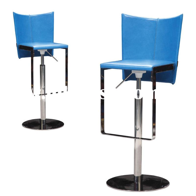 Unique Modern Synthetic Leather Stainless Steel Bar Stool