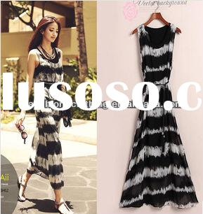 Hot Summer Elegant Chiffon Long Bohemian Dress For Women
